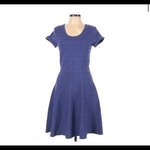 Rebecca Taylor sz medium purple knit dress